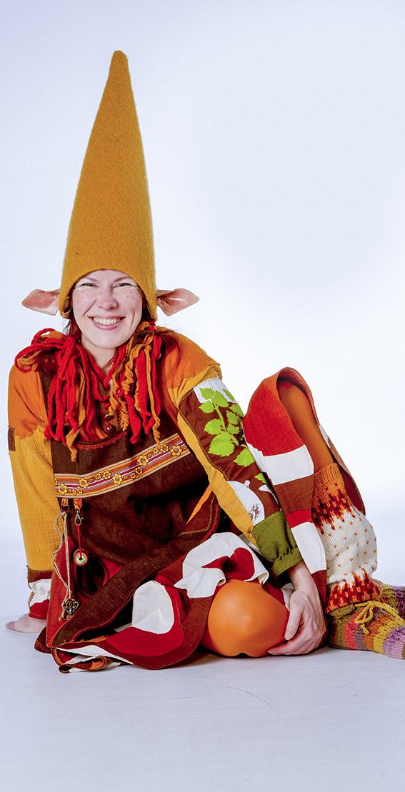 Kuopion kauppahalli hallitonttu Hilima Haepakka