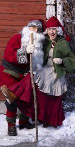 Joulupukki ja muori Kuopio