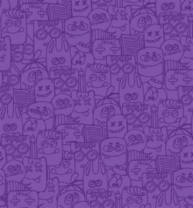 Jenga-Jengala taustakuva violetti