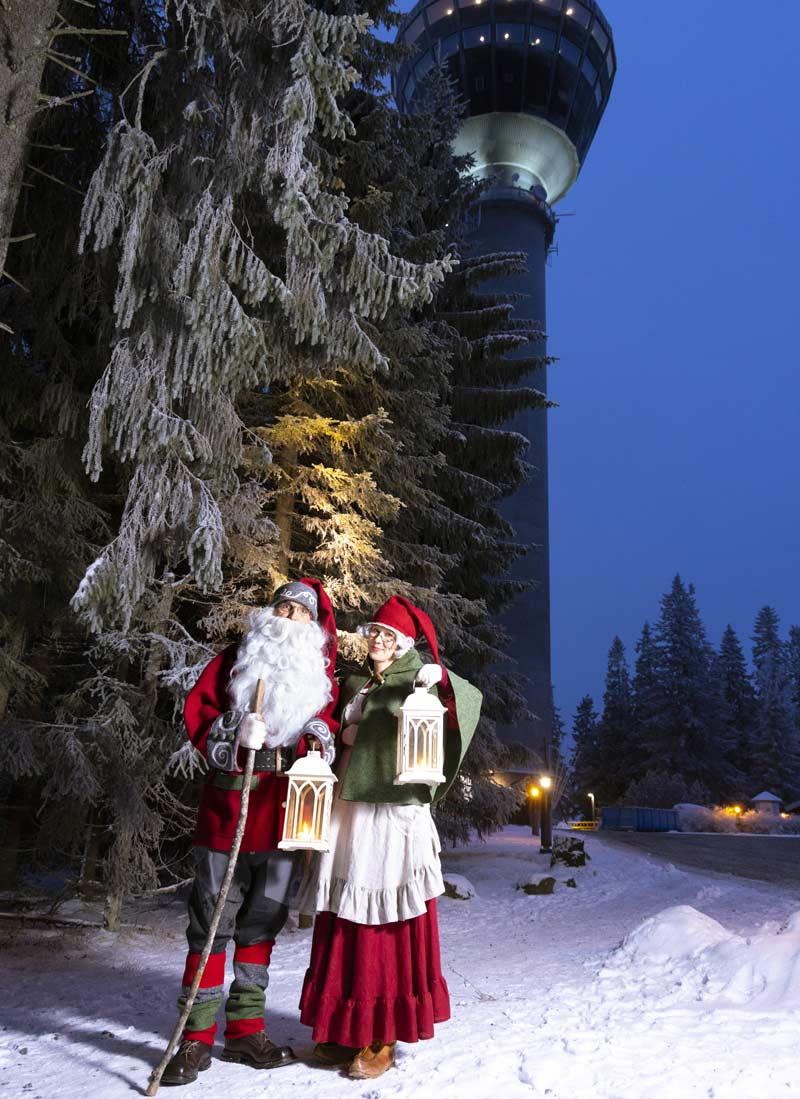Joulupukki Puijo Kuopio