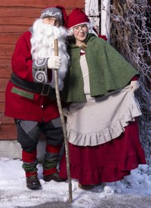 Jouluinen ohjelma joulupukki Kuopio