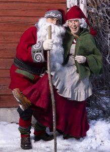 Joulutapahtuma Kuopio Joulupukki ja joulumuori